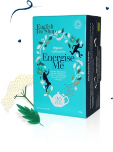 Energise Me tepåsar - ekologiskt örtte