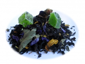 Tefrossas Gorgeous Green - svart te
