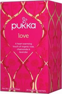Pukka Love Ekologiskt Örtte - 20 tepåsar