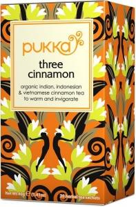 Pukka Ekologiskt Three Cinnamon Örtte - 20 tepåsar