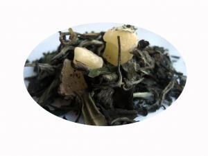 Persika och Passionsfrukt - vitt och grönt te