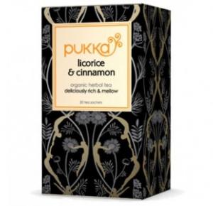 Pukka Licorice and Cinnamon Ekologiskt Örtte - 20 tepåsar