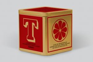 T-Te Saffran och Apelsin, ekologiskt svart te - Johan och Nyström