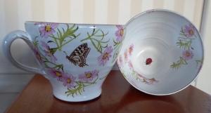 Tekopp Vårslända - Anna Keramik