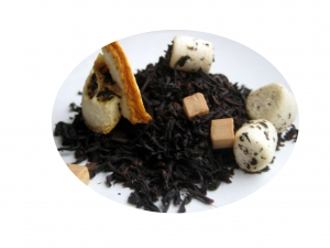 Tefrossas Apelsinchoklad De Luxe - svart te