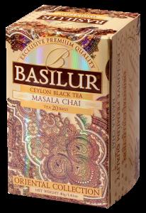 Basilur Masala Chai - svart te - 20 tepåsar