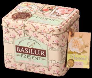 Basilur Present Pink - grönt te