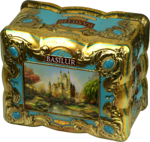 Basilur Turquoise - svart te
