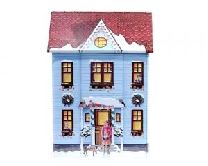 Burk Townhouse Blå