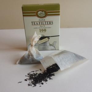 Tefilter för engångsbruk - 100 st