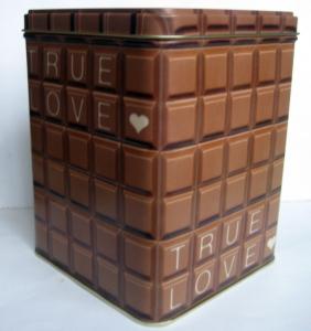 Burk Choklad - stor