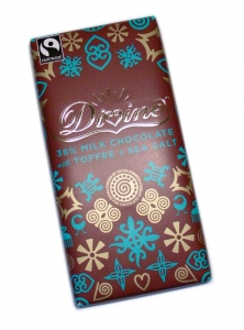 Divine Mjölkchoklad med Toffee och Havssalt