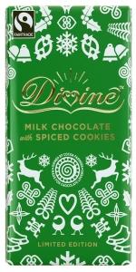 Divine Mjölkchoklad med Kryddiga Kakor