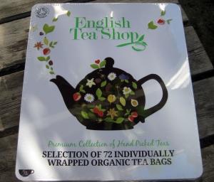 English Tea Shop Presentask - ekologiskt och rättvisemärkt te