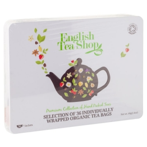 English Teashop Premium Collection - 36 tepåsar