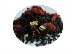 Goji och Granatäpple - svart te