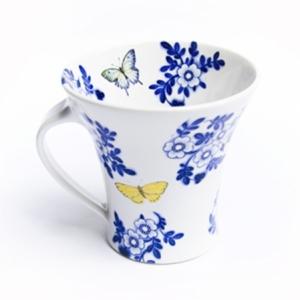 Mugg med fjäril - Jill Johansson Keramik