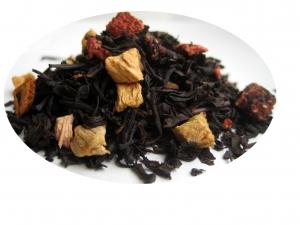 Jordgubbskaramell - svart te