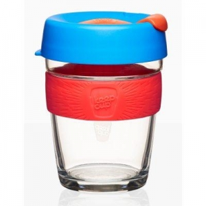 Keepcup Brew Elixir Medium - blå röd orange