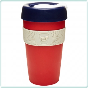 Keepcup Thinker Large - röd blå grå