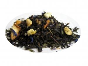 Mynta och Citron - svart te