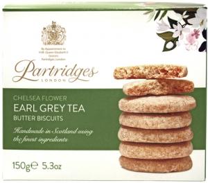 Partridges Earl Grey Tea Biscuits