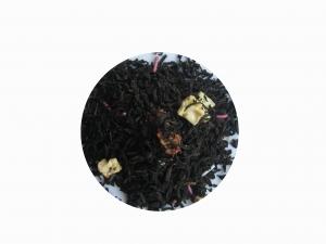 Polkagris - svart te