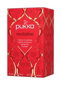 Pukka Revitalise Ekologiskt Örtte - 20 tepåsar