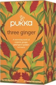 Pukka Three Ginger Ekologiskt Örtte - 20 tepåsar