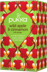 Pukka Wild Apple and Cinnamon Ekologiskt Örtte - 20 tepåsar
