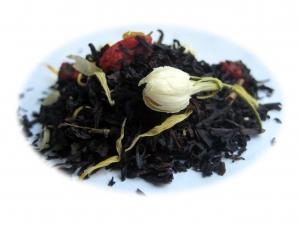 Körsbär och Mullbär - svart te