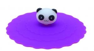 Tekoppslock rosa med panda