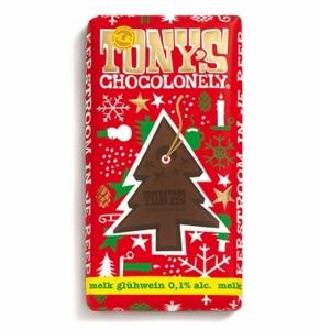 Tonys Chocolonely Mjölkchoklad med Julkryddor - 180 g