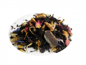 Tusen Blommor - svart te