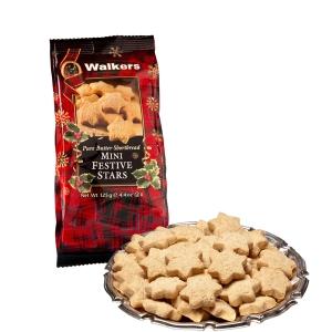 Walkers Mini Festive Stars - shortbread