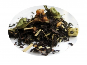 Vattenmelon och Kaktus - svart te