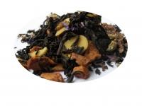 Violet Macaron - svart te