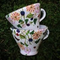 Tekopp Rosenälva Björnbär - Anna Keramik