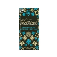 Divine Mörk Choklad med Toffee och Havssalt