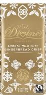Divine Mjölkchoklad med kanelkrisp - 90 g