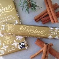 Divine Mjölkchoklad med kanelkrisp - 35 g
