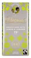 Divine Mörk Choklad med Citron och Enbär