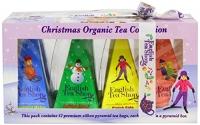 White Christmas Organic Tea Collection - English Tea Shop - 12 tepåsar