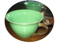 kopp grön