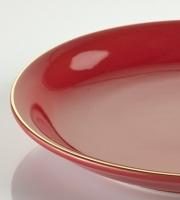 röd assiett