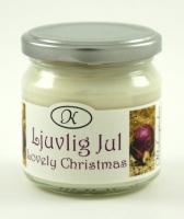 Doftljus Ljuvlig Jul - Klockargårdens