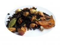 Mandarin- och Pepparkaksparfait - svart te