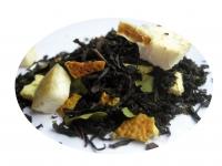 Pomelo och Basilika - svart te