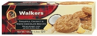 Walkers Pineapple, Coconut and White Chocolate Biscuits - 150 g