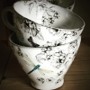 Tekopp Gråslända - Anna Keramik